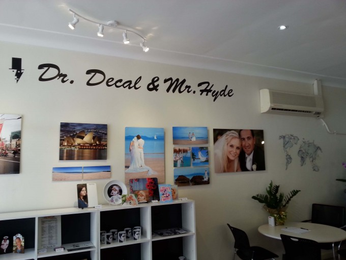 Wall Decals printed using 'Flexi Decal Paper for Solvent Printer'