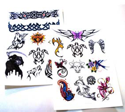 Diy temporary tattoo paper for inkjet printers for Temporary tattoo printer