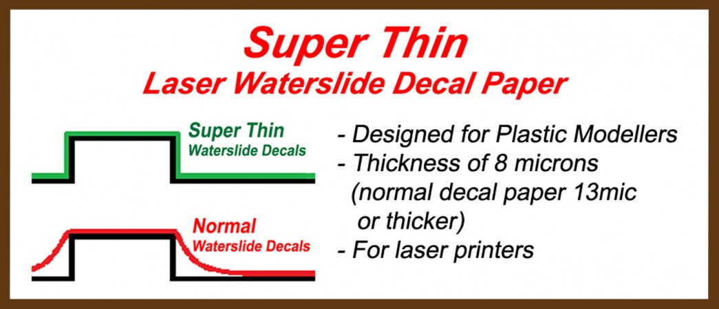 Find The Best Inkjet Decal Paper Dr Decal Mr Hyde - How to make waterslide decals at home